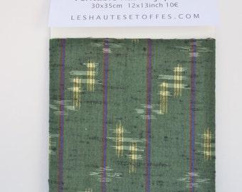 Wool Japanese Kasuri Ikat
