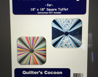 """Fusible Interfacing for Square Tuffet 18"""" x 18"""""""