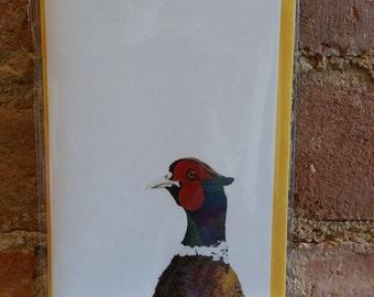 John Pheasant note card
