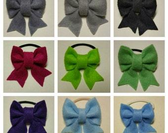 Girls hair accessories bow hair elastic bands