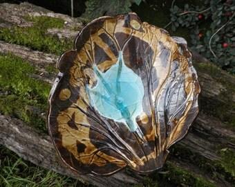 Organic leaf bowl