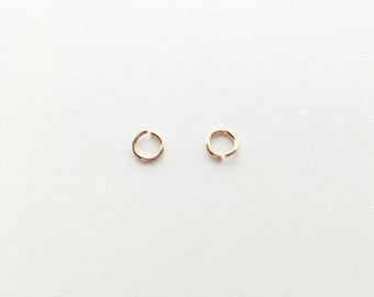 Rosegold O Jump Rings - 10 grams JO1-R