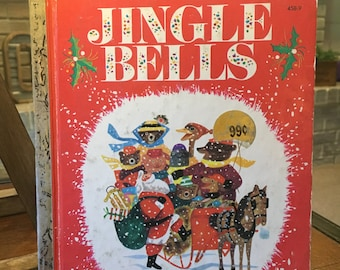Vintage Little Golden Book | Jingle Bells | Copyright 1964 | Printed in the USA