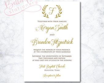 Morgan Wedding Invitation Design