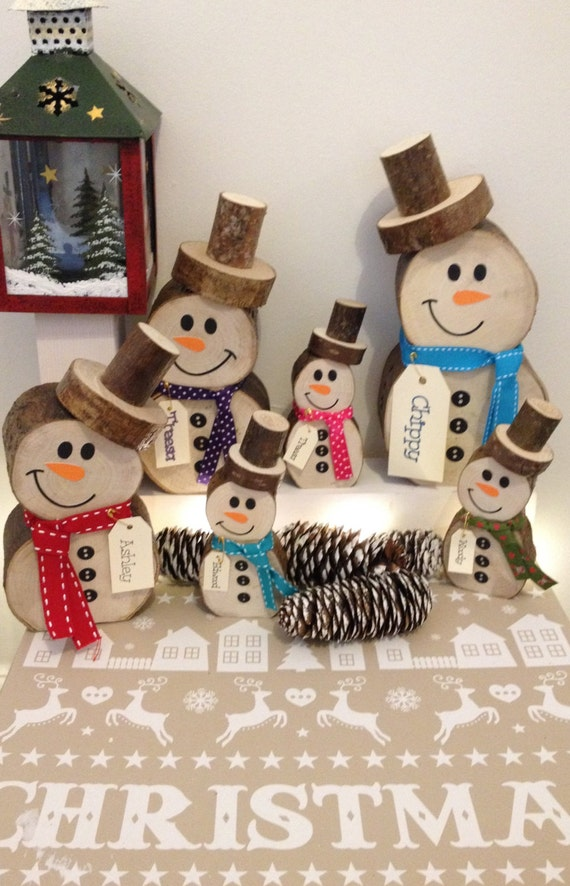 christmas decorations craft ideas items similar to handmade rustic snowman on etsy 3612