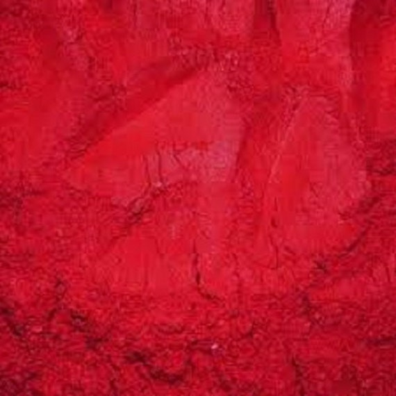 how to make red pigment