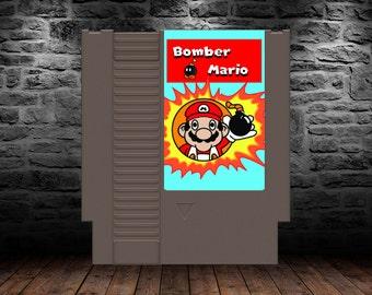 Bomber Mario - Bombastic Multiplayer action in the Mushroom Kingdom - NES