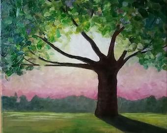 Summer Tree/ Four Seasons