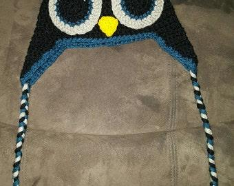 Twilight Owl Beanie