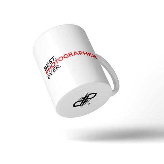 Best Photographer Ever Mug - Great Gift Idea Stocking Filler
