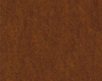 Copper Canyon Brown Craft Felt Fabric - Kunin Felt - Crafting Felt