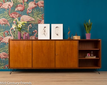 60s sideboard, 50s, chest of drawers, 50's, vintage (610016)