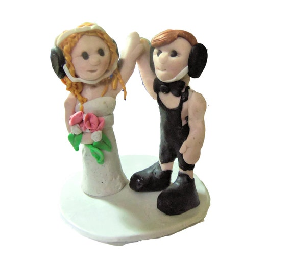 wrestling wedding cake toppers wedding cake topper polymer clay pose 27660