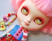 "OOAK Custom Icy Art Doll ""Yuko"" by Dear Girlface Dolls Blythe Sister"
