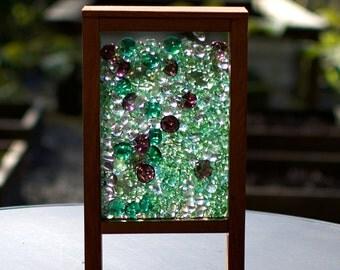 Freestanding Windowsill Kaleidoscope Colorful Glass Stained Glass Suncatcher
