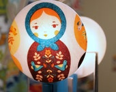 Matryoshka Russian Nesting Doll Nightlight