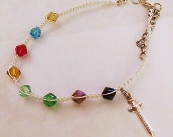 Order of the Draw Bracelet - Nursing Student Bracelet - Phlebotomy Student - Phlebotomy Jewelry -  - Medical Assistant Bracelet  - Study Aid