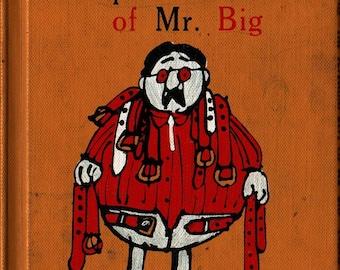The Splendid Belt of Mr. Big - Sara Bulette - Lou Myers - 1964 - Vintage Kids Book