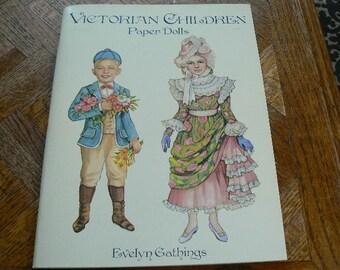 Victorian Children Paper Dolls UNUSED 1996