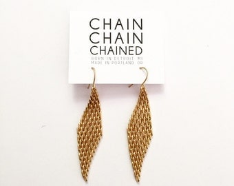 Daily Earrings / Mesh Chain / Gift