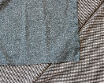 Merino Wool Fabric!! Polartec Power Wool Jersey - Heather Blue - Breathable, fast drying, perfect for sportswear! 2 Yards!