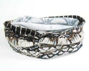 Runner Headband - Black and Brown