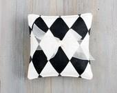 Black & White Harlequin Lavender Sachets, Modern Style, Minimalist Home Decor