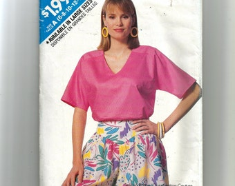 Butterick Misses' Top and Culottes Pattern 6403