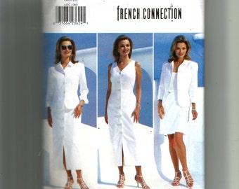 Butterick Misses' /Misses' Petite Jacket, Dress and Skirt Pattern 4492