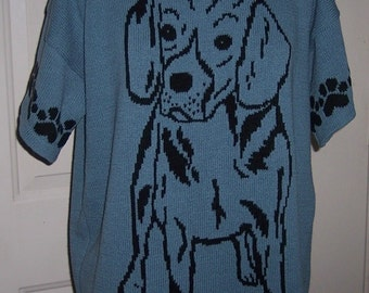 Custom Knit Beagle Sweater ****Create your own sweater see below*****