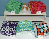 Guinea Pig Snuggle hut, multi sizes, 9x9, 12x12, or 14x14  pouch FREEstanding opening snuggle bag, guinea pig house guinea pig cavey
