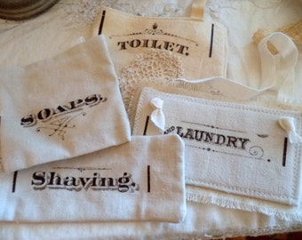 French style label bags