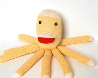 Octopus Plush, Kids Octopus Softie SOCKTOPUS Soft Baby Toy