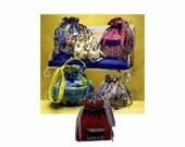 Drawstring Bags Purse Pocketbook Simplicity 3531 Sewing Pattern Uncut
