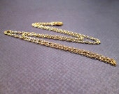 RESERVED for Jess ONLY - 22 inch Gold Necklace Chain, Jewelry Supplies, FREE Shipping U.S.
