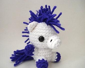 Custom Pony Amigurumi - Horse Doll - Choose Your Own Color