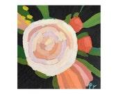 """Original Acrylic Painting - """"Rose VI"""""""