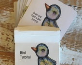 Bird Tutorial card deck WITH BOX