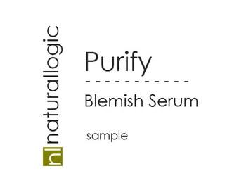 Organic Acne Spot Blemish Treatment. Holistic. Speed Healing, Reduce Inflammation, Redness, Irritation, Scarring. SAMPLE. VEGAN