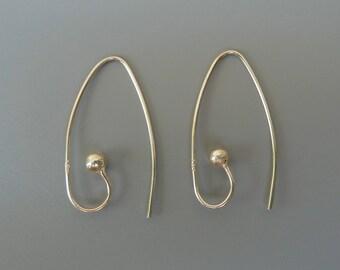 Interchangeable Ear Wires, Silver Interchangeable Earrings, For Earring Charms, Sterling Silver Earrings, Changeable Earrings For Charms