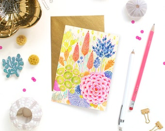 Card - Note Card - Bloom