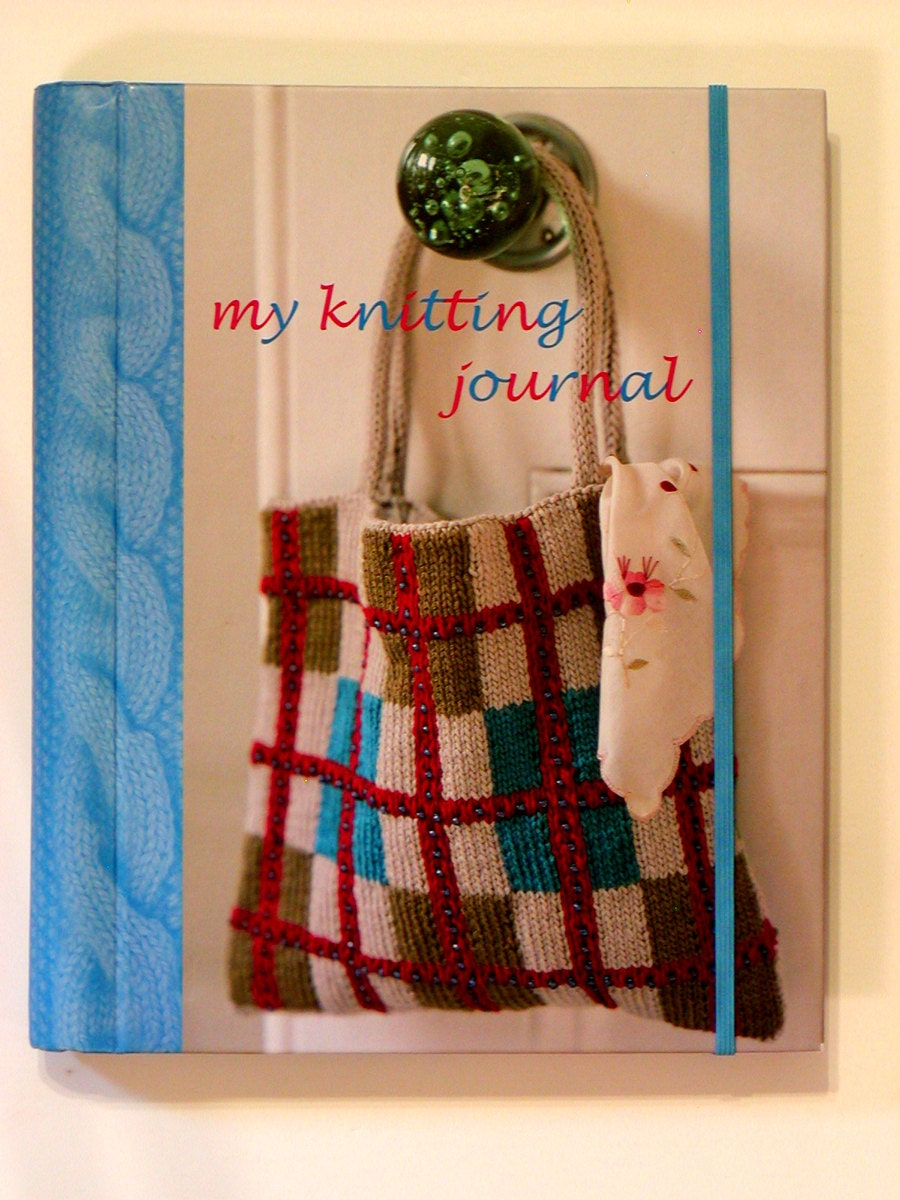 Knitting Project Journal : My knitting journal book keep project details spiral