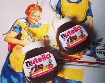 Nutella Jar Earrings