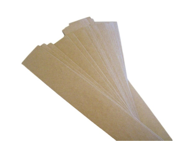 set of 50 belly band, soap bands, kraft bands, product bands 1 1/2 x 11 kraft, white, cream, black