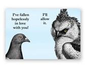 Hopelessly in Love - Magnet - Humor - Gift - Stocking Stuffer