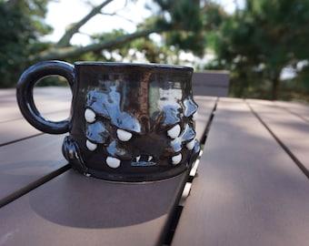 Stoneware Spider Mug