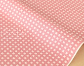 Japanese Kei Fabric Squares - blush pink - fat quarter