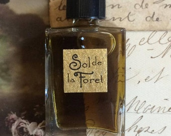 Sol de la Foret Natural Perfume Botanical Artisanal Small Batch Handmade in Brooklyn, NY