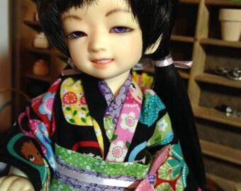 Nesting dolls Kimono and obi for 1/6th 26cm YOSD BJD