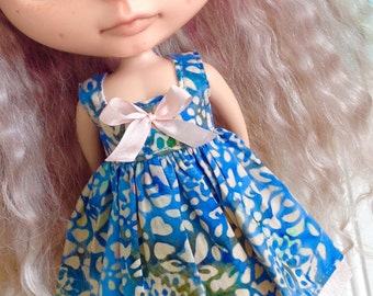Dress for Blythe - Beautiful Batiks #9